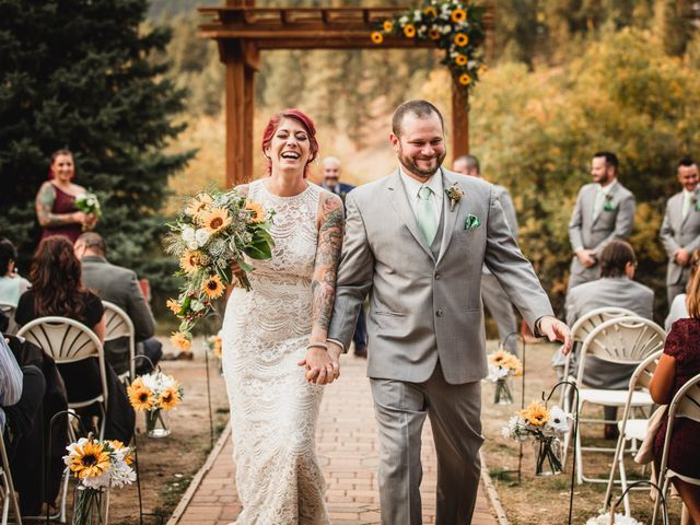 Josh and Kristin's Wedding in Pine, Colorado 7