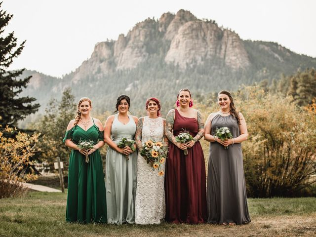Josh and Kristin's Wedding in Pine, Colorado 8