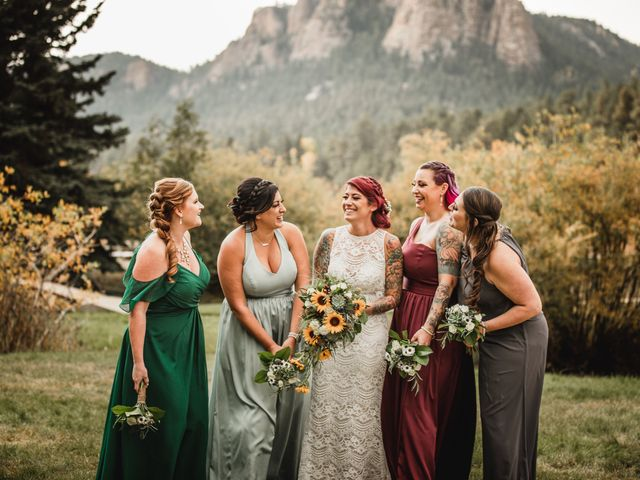 Josh and Kristin's Wedding in Pine, Colorado 9