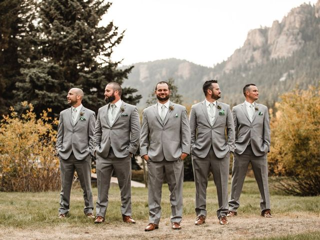 Josh and Kristin's Wedding in Pine, Colorado 11