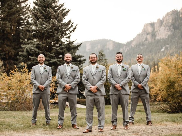 Josh and Kristin's Wedding in Pine, Colorado 12