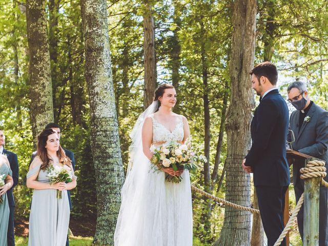 Josh and Kathleen's Wedding in Traverse City, Michigan 23