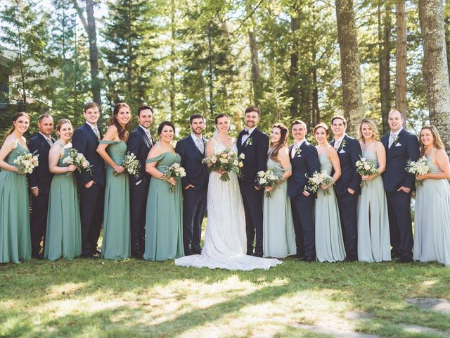 Josh and Kathleen's Wedding in Traverse City, Michigan 28