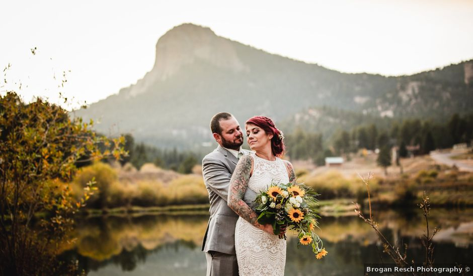 Josh and Kristin's Wedding in Pine, Colorado