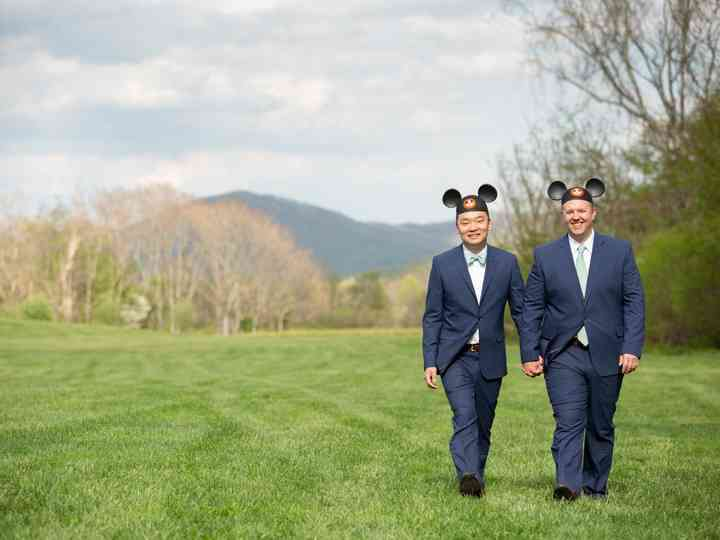 The wedding of Christopher and Jeremy
