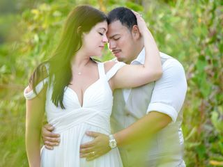 The wedding of Samantha and Romeo 1