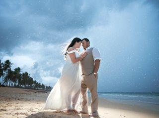 The wedding of Samantha and Romeo