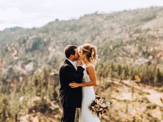 The wedding of Brittany and Chris