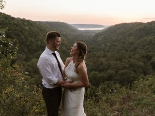 The wedding of Stephanie and Kale