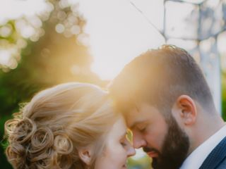 The wedding of Brooke and Luke