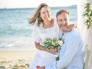The wedding of Lorain and Sperantzo