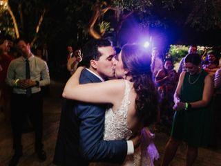 The wedding of Kim and Stephen 1