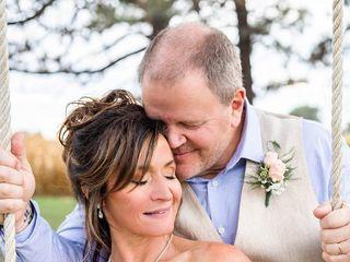 The wedding of Melinda and Matthew 1