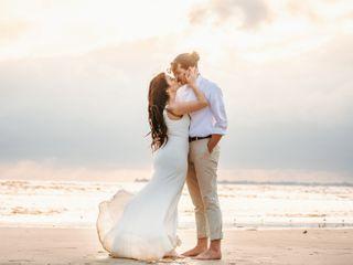 The wedding of Kurt and Heather