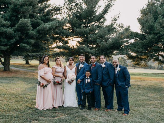 Sammy and Yomaira's Wedding in Frederick, Maryland 17