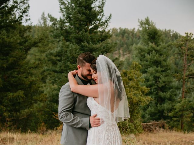 Erica and Ben's Wedding in Morrison, Colorado 3