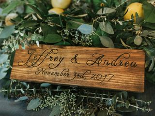 The wedding of Andrea and Jeff 1