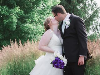 The wedding of Rachel and Trevor