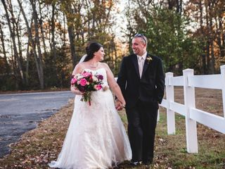 The wedding of Stephanie and Kyle