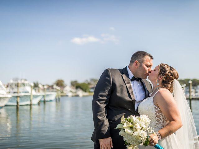 The wedding of Stephanie and Adam