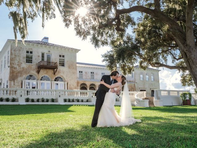 The wedding of Morgan and Joshua