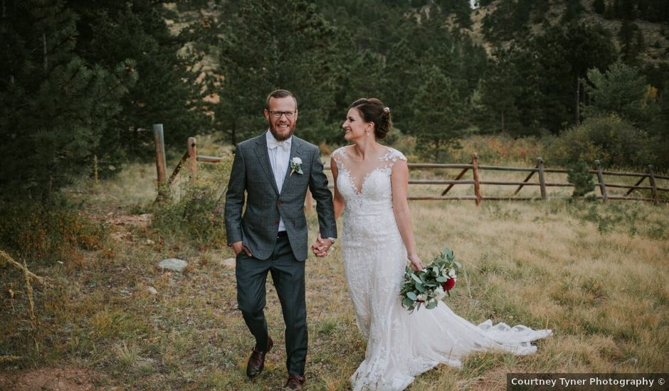 Trina and Gary's Wedding in Estes Park, Colorado