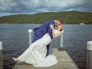 The wedding of Krystal and Matthew