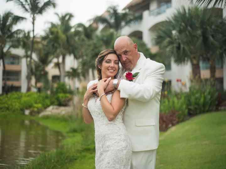 The wedding of Amanda and Dimitrios