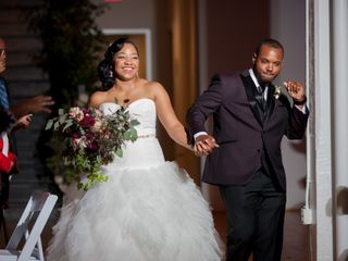 The wedding of Terrell and Patrina