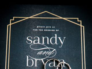 The wedding of Sandy and Bryan 1