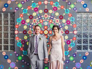 The wedding of Jessielyn and Jared
