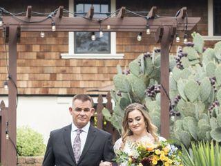 The wedding of Ashley and Warren 1