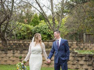 The wedding of Ashley and Warren