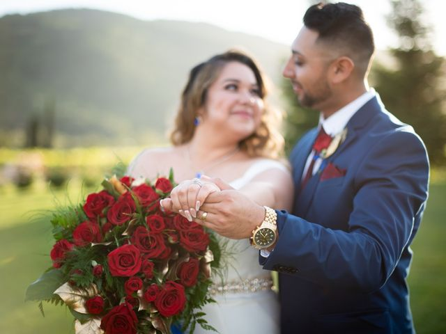 The wedding of Maria and Johnny