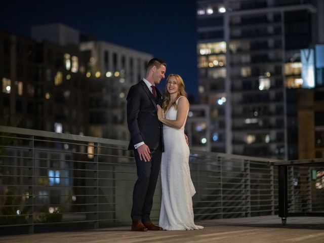 The wedding of Erin and Jake