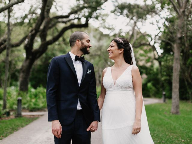 The wedding of Audrey and Avi