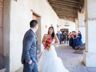 Francine and Jason's Wedding in San Miguel, California 3