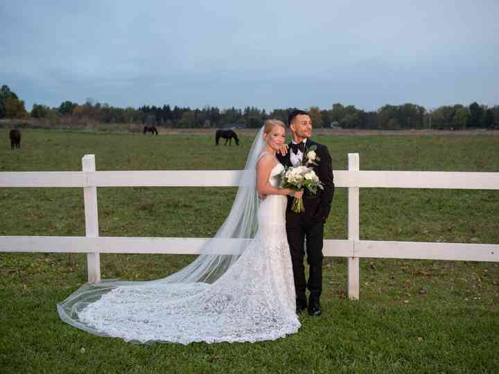 The wedding of Katie and Danny