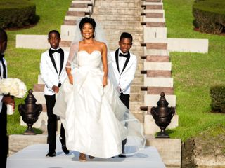 The wedding of Gabrielle and Dwyane 3