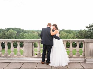 The wedding of Samantha Baker and Andrew Mathews