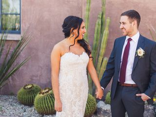 The wedding of Taliah and Jon