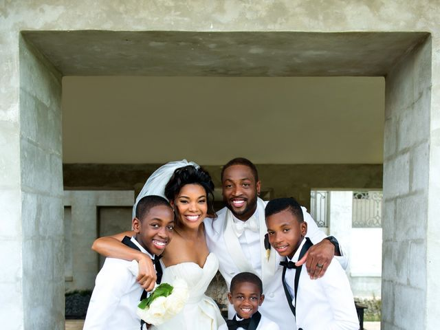 Dwyane and Gabrielle's Wedding in Homestead, Florida 5