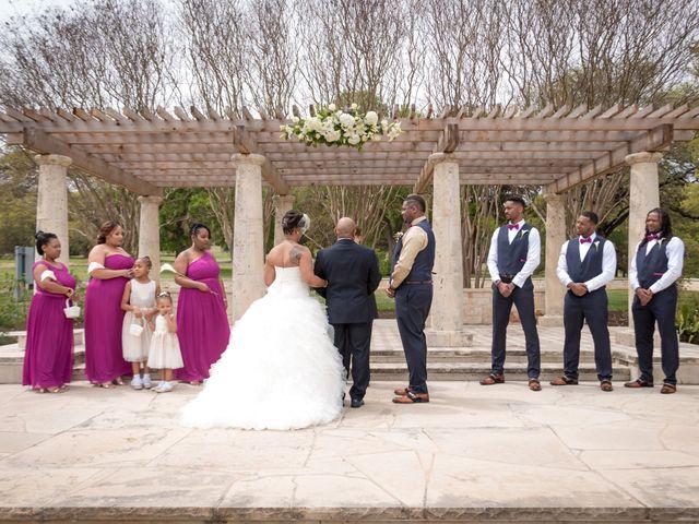 LaTuan and Tai's Wedding in Georgetown, Texas 9