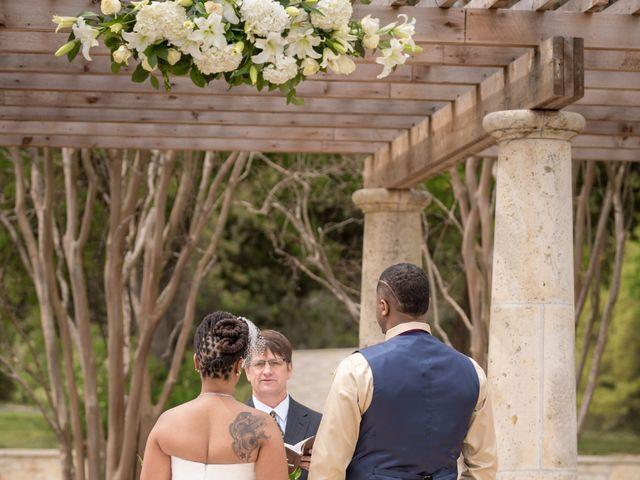 LaTuan and Tai's Wedding in Georgetown, Texas 10