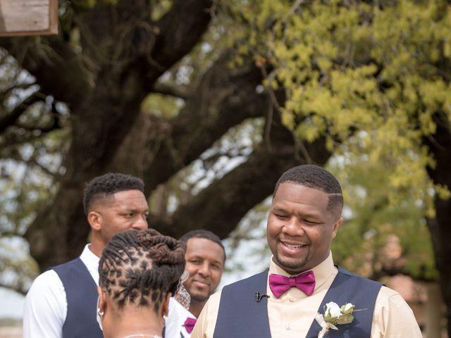 LaTuan and Tai's Wedding in Georgetown, Texas 12
