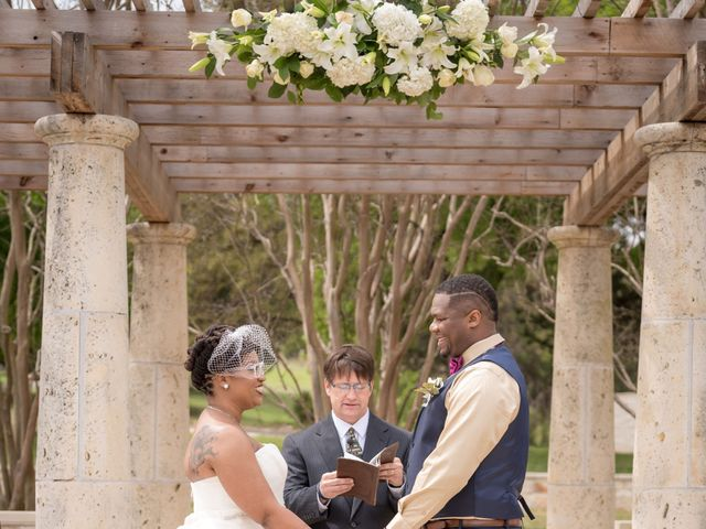 LaTuan and Tai's Wedding in Georgetown, Texas 13