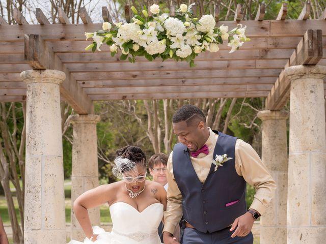 LaTuan and Tai's Wedding in Georgetown, Texas 14