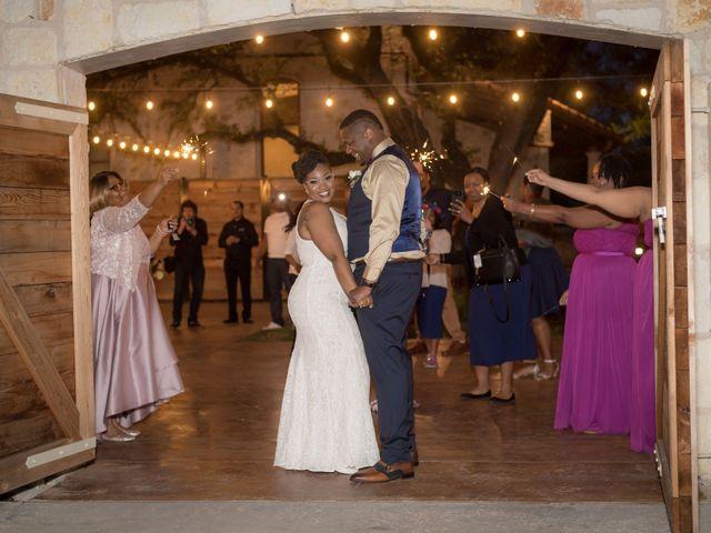 LaTuan and Tai's Wedding in Georgetown, Texas 34