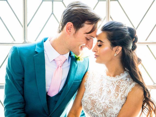 The wedding of Luka and Christina