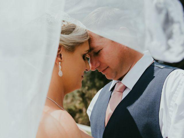 The wedding of Christina and John